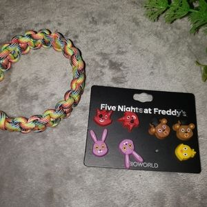 Hot Topic Five Nights at Freddys earings. One size